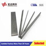Tiras de carburo de tungsteno para cuchillos de trabajo de la madera