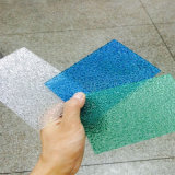 Het in reliëf gemaakte Stevige Blad van het Polycarbonaat voor BinnenDecoratie