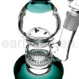 Großhandelsbienenwabe-Filtration-Huka-Glas-rauchende Wasser-Rohre (ES-GB-243)