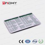 Version imprimable du papier de haute qualité RFID ticket de bus/métro