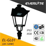 Everlite 80W al aire libre Jardín de luz de linterna LED Post-Top