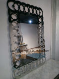 Самомоднейшее живущий зеркало рамки нержавеющей стали украшения мебели комнаты