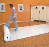 Alibaba Melhor Fornecedor do protector de piso pegajoso sentida