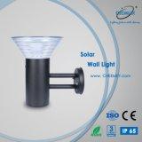 Indicatore luminoso esterno alimentato solare chiaro fissato al muro di obbligazione
