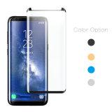 película curvada 3D del protector de la pantalla del vidrio Tempered para la galaxia S8 de Samsung