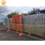 オーストラリアの標準の2400*2100mm電流を通された鋼鉄一時塀のパネル
