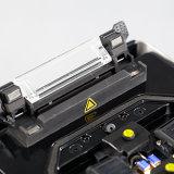 FTTX Faser-Infrastruktur-Schmelzverfahrens-Filmklebepresse-bewegliche Palmen-Größen-verbindene Maschine