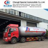 販売の18ton 35cbm 35500liter LPGタンク貨物自動車