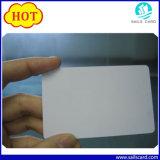 Cartão em branco da impressão Printable do Inkjet Cr80 com material do PVC