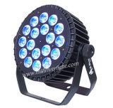 Innenstadiums-Beleuchtung 18X15W LED NENNWERT kann beleuchten