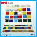 Гравировка и двойной цветной лист для рекламы, знак системной платы