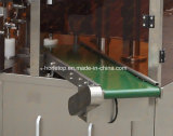 Máquina de embalagem giratória para o malote do Zipper com furo plano