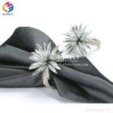 Venda por grosso de porcelana de Design de Jantar Real Anéis guardanapo guardanapo elegantes toques