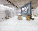 carrocería completa esmaltada 450X900m m Bianco Carrara del azulejo de la porcelana