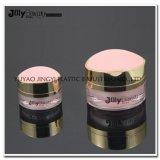 Fornecedor chinês Eco-Friendly de boca larga jarra de cosméticos em acrílico de plástico