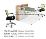 Personen-Arbeitsplatz-Schreibtische Soem-2 mit Tischplattenteiler