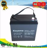 Batería recargable profunda del gel de la batería 6V210ah del gel del ciclo (DCG210-6)