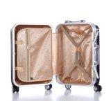 Багаж рамки конструкции плана алюминиевый, чемодан PC 360 колес степени (XHAF019)