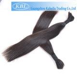 Extension de cheveux en vrac, brésilien, cheveux humains