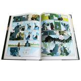 Impressão profissional do livro de China, compartimento mensal/trimestralmente de forma