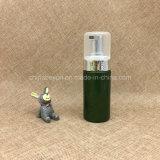 [120مل] أبيض مستديرة محبوب [بلستيك فوأم] زجاجة [4وز] لأنّ مستحضر تجميل تنظيف
