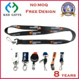 Customized India Commission Lanyard Neck Strap with Metal Hook (KSD - 930)