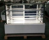 Base de mármore preto Bolo de padaria do refrigerador do Mostrador vitrina frigorífico (RL730V-M2)