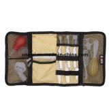 El cable cosmético del abrigo del organizador de los accesorios de la electrónica del maquillaje del recorrido lleva el bolso