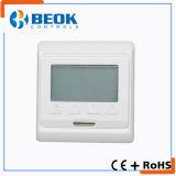 Termostato elétrico do quarto do aquecimento Underfloor de indicação digital do LCD com função programável semanal