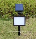 48 del Solar voyant du capteur de mouvement radar à micro-ondes étanches IP65 Montage mural paysage Insérer Lumière solaire de jardin