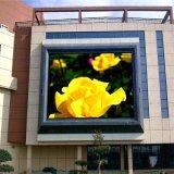 P8 imperméabilisent le mur visuel polychrome extérieur de DEL pour la publicité