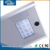 12W al aire libre todos en una luz de calle solar integrada del LED