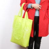 Supermarché pliable en polyester sacs et sacs de magasinage de pliage en nylon réutilisables