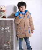 Новая типа зимы куртка вниз для мальчика