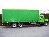 cubierta imprimible laqueada de acrílico de la cortina de la cara del contenedor para mercancías de la armadura blanca de 900GSM 26.5oz Panamá