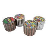 4 strati unici del metallo del tabacco del diametro in lega di zinco della smerigliatrice 53mm (ES-GD-115)