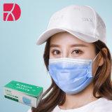 3 ply não tecidos Earloop descartável e máscara facial