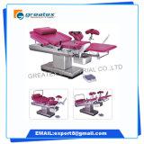 Cadeira cirúrgica elétrica do Gynecology do hospital de China, cadeira médica de Gyn do Gynecology