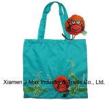 Sac pliable de client de cadeaux, type animal de crabe, sacs réutilisables, légers, d'épicerie et maniable, promotion, accessoires et décoration