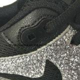 De Tennisschoenen die van populaire Vrouwen Atletische Schoenen met Bovenleer PU+Mesh in werking stellen