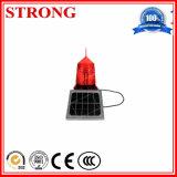 Indicatore luminoso d'avvertimento del falò della Camera chiara del lampadario a bracci di ostruzione aerea solare del camino