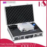 HS08AC-Ska Juego de conjunto de aerógrafo de doble gravedad completa Kit Compresor de aire Hobby Cake Tattoo