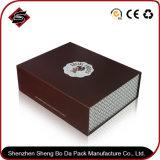Подгонянная оптовой продажей коробка логоса конструкции бумажная упаковывая