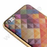 De Dubbele Dekking van uitstekende kwaliteit van de Telefoon IMD TPU voor iPhone 7