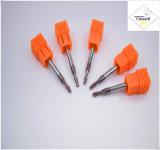 강철 CNC 기계로 가공 부속 &#160를 위한 긴 R2.0*8*4D*75L*2f/4f를 입히는 Cutoutil HRC55 Tialn; 공 코 끝 선반