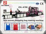 Bolso reutilizable material no tejido automático lleno que hace la máquina (ZXL-A700)