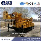Hfw-200A toute la plate-forme de forage 200m de puits d'eau de formation