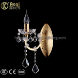 Heißes Verkaufs-goldenes Metallkristallwand-Licht