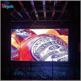 P4 vervollkommnen Anblick-Effekt-farbenreiche Bereich LED-Innenbildschirmanzeige