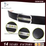 De fabriek levert Riemen van de Mensen van het Leer van de Korrel van de Gesp van 3.5cm de Automatische Echte